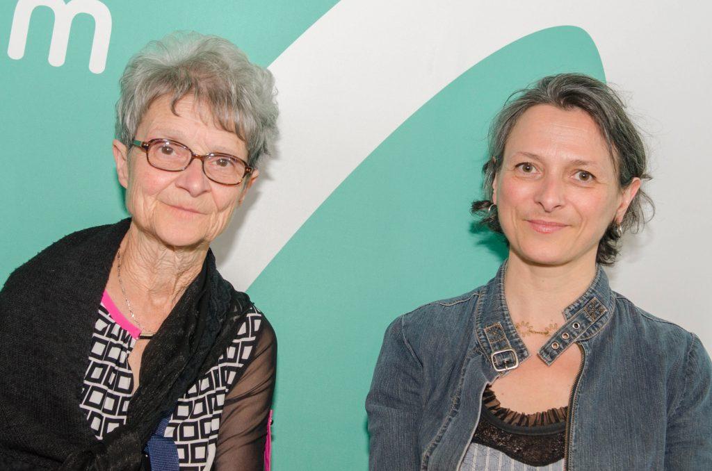 Madeleine Juneau, CND, et Annabel Loyola